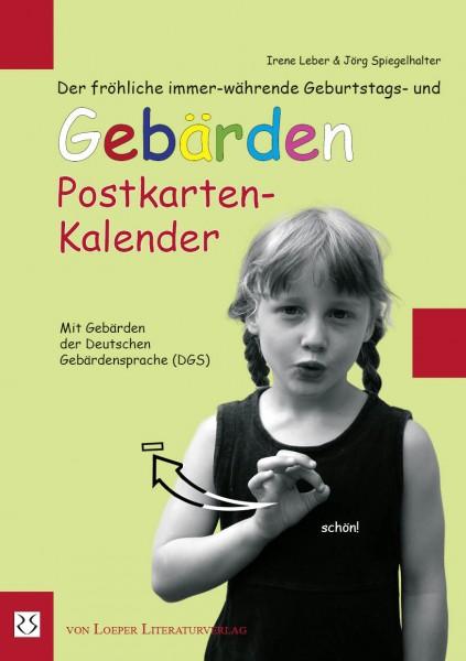 Leber / Spiegelhalter: Postkarten-Kalender
