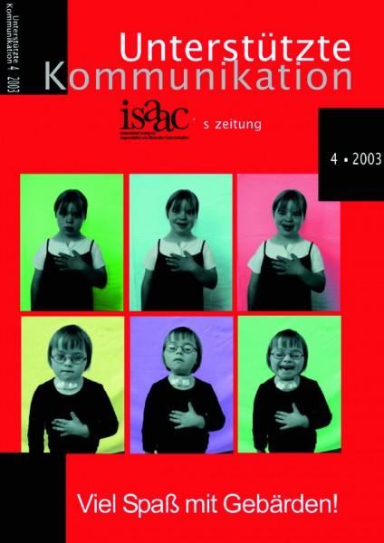 Unterstützte Kommunikation 4/2003
