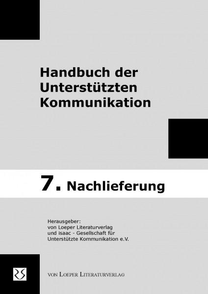 7. Nachlieferung zum Handbuch der Unterstuetzten Kommunikation