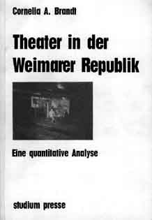 Brandt: Theater in der Weimarer Republik